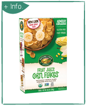 NATURE'S PATH Fruit Sweetened Corn Flakes
