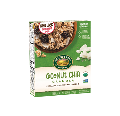 NATURE'S PATH Coconut Chia Granola