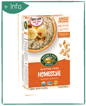 Gluten Free Hot Oatmeal Homestyle